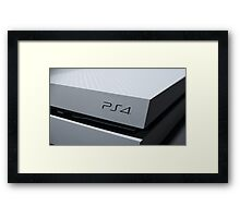 Ps4 console image  Framed Print