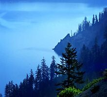 Crater Lake II by artsphotoshop