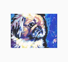Pekingese Dog Bright colorful pop dog art Unisex T-Shirt