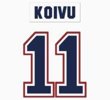 Saku Koivu #11 - white jersey Baby Tee