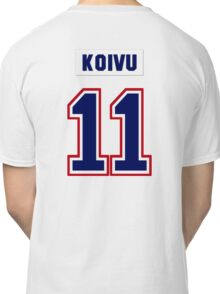 Saku Koivu #11 - white jersey Classic T-Shirt