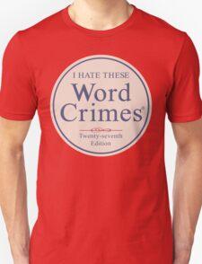 Word Crimes T-Shirt
