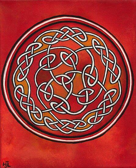 Meditation Wheel by earthskyart