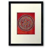 Meditation Wheel Framed Print