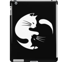 Ying yang cat iPad Case/Skin
