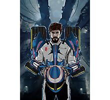 Alonso Mechformer Racing Driver Photographic Print