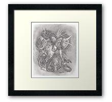 tattoo slave Framed Print