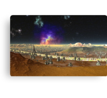 Concourse of the Stars Canvas Print