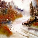 Landscape..Winter Walk by  Janis Zroback