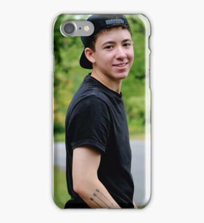 Justin Thompson iPhone Case/Skin