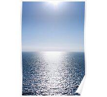 Shining Blue Sea Poster