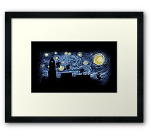Starry Fight Framed Print