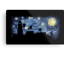 Starry Fight Metal Print