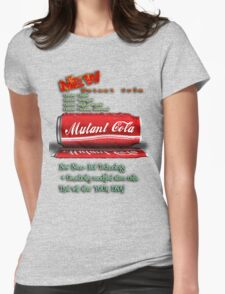 New MUTANT Cola Womens Fitted T-Shirt