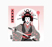 Geisha with Katana Unisex T-Shirt