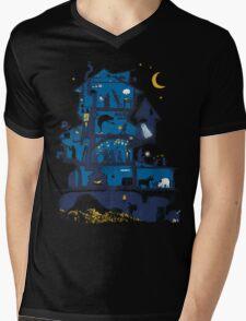 Wizard's Castle Mens V-Neck T-Shirt