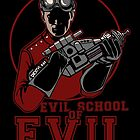 Dr. Horrible's Evil School of Evil CARD by tyna