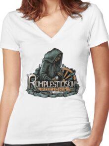 Rumplestiltskin Women's Fitted V-Neck T-Shirt
