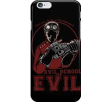 Dr. Horrible's Evil School of Evil iPhone Case/Skin