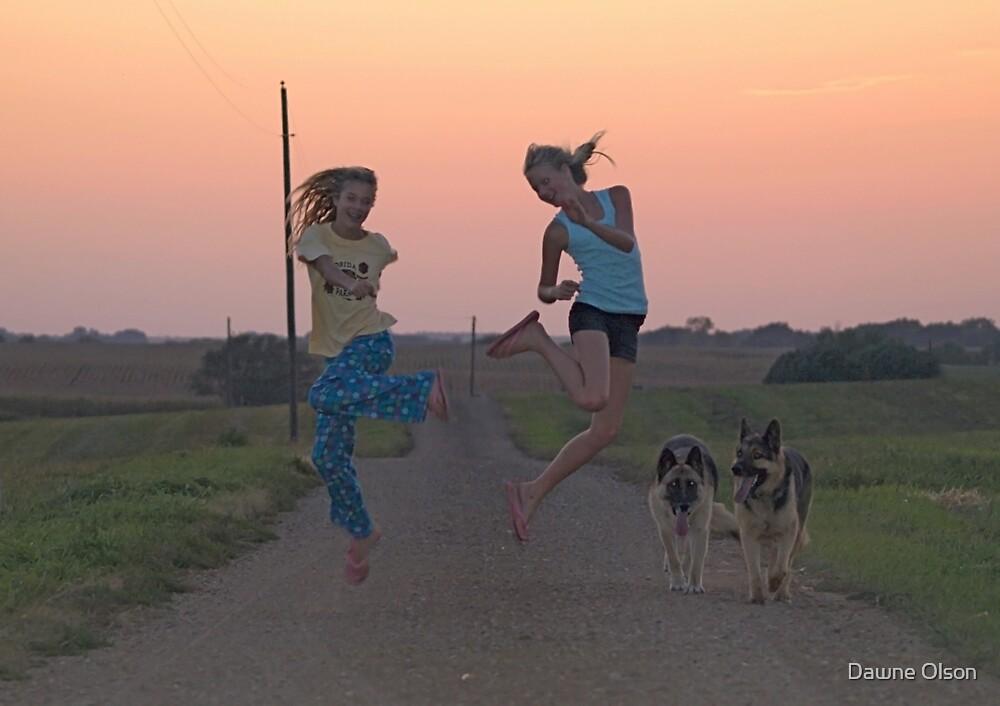 Adolescent Joy by Dawne Olson