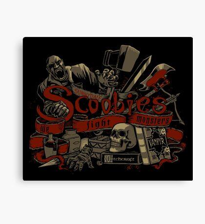 Scoobies Canvas Print