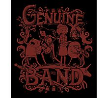 Genuine Band Photographic Print