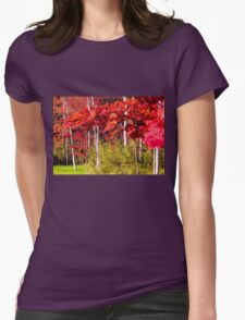 Canadian Maple Womens Fitted T-Shirt