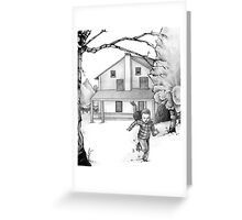 Run as Fast as You Can Greeting Card
