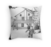 Run as Fast as You Can Throw Pillow
