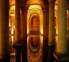 Basilica Cistern by Mahjabeen Mankani