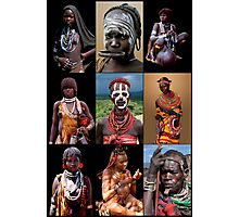 AFRICAN TRIBAL LADIES Photographic Print