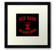 red room academy Framed Print