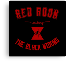 red room academy Canvas Print