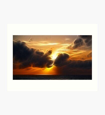 Sunset Dreams Art Print