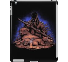 Wizard for Hire iPad Case/Skin