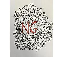 custom tribal for Ng  Photographic Print