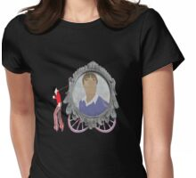 """""""Back to the freak show......."""" Womens Fitted T-Shirt"""