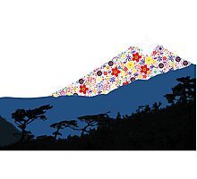 Mount Bloom Photographic Print