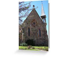 Catholic Church, Carcoar, NSW Greeting Card