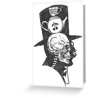 A gentlemen's X-ray Greeting Card