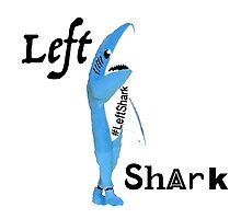 Left Shark 3 Photographic Print