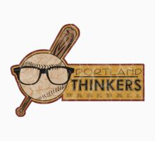 Portland Thinkers Baseball by Tracey Gurney
