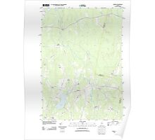 Maine USGS Historical Map Albion 20110906 TM Poster
