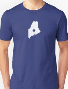 Maine Heart Unisex T-Shirt