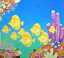 Yellow Tang by joeyartist