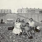 1950s Day at the Seaside - Brighton Beach by TonyCrehan