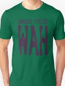 Wario Voice Shirt Unisex T-Shirt