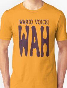Wario Voice Shirt T-Shirt