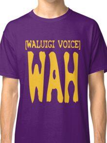 Waluigi Voice Shirt Classic T-Shirt