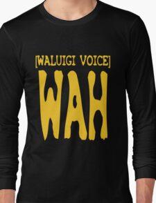Waluigi Voice Shirt Long Sleeve T-Shirt